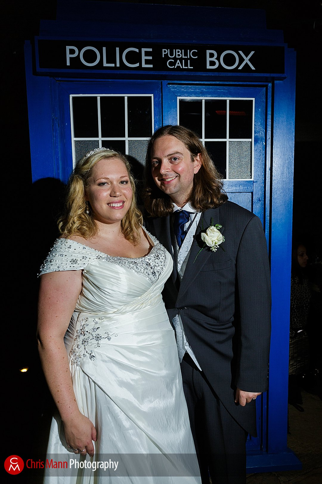 bride and groom tardis doctor who