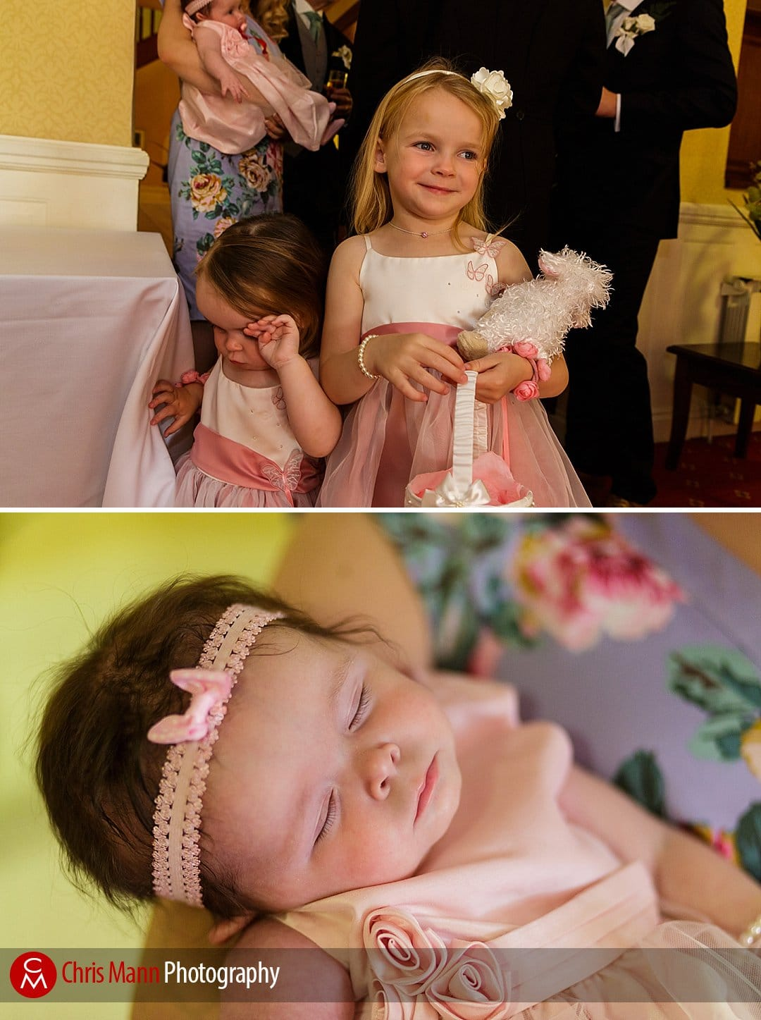family photos wedding Manor House Hotel Guildford