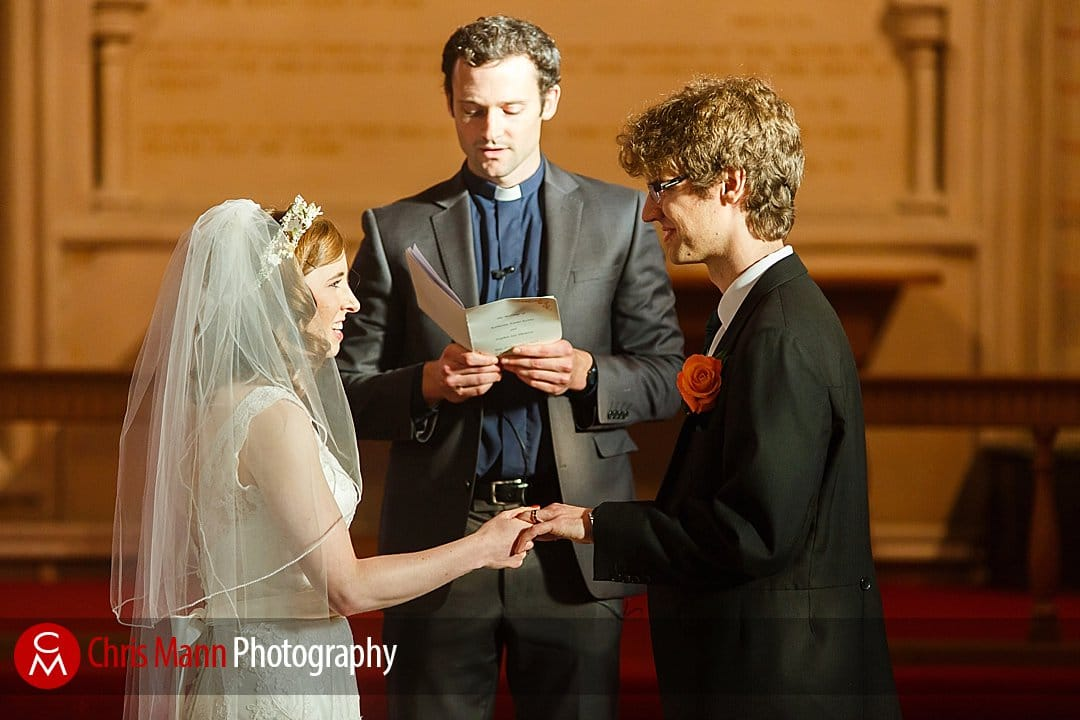 ring exchange wedding St Ebbe's Oxford