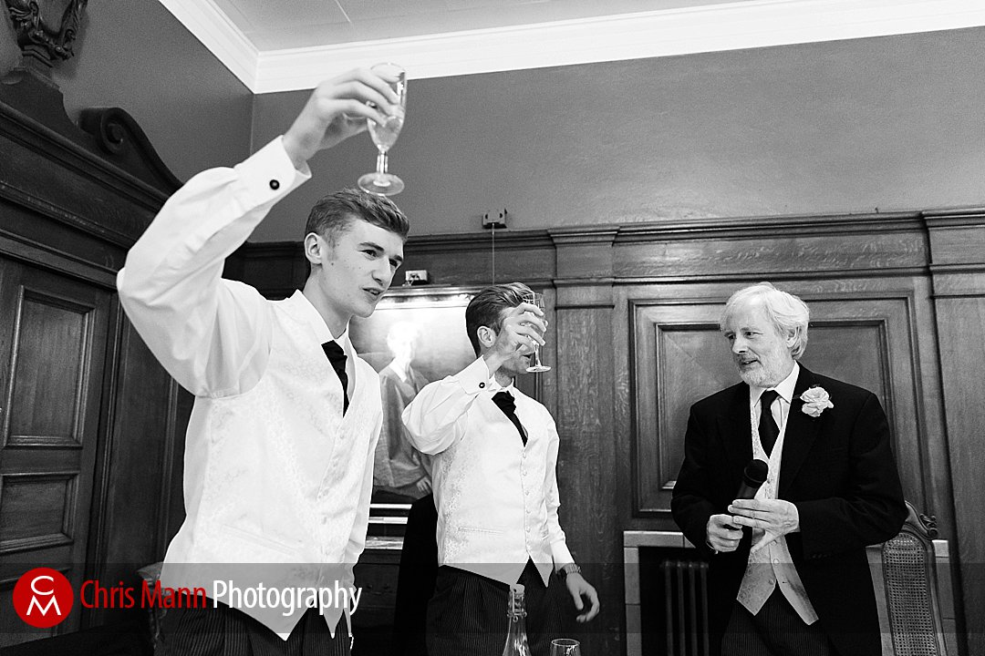 best man toasts couple wedding Lady Margaret Hall Oxford