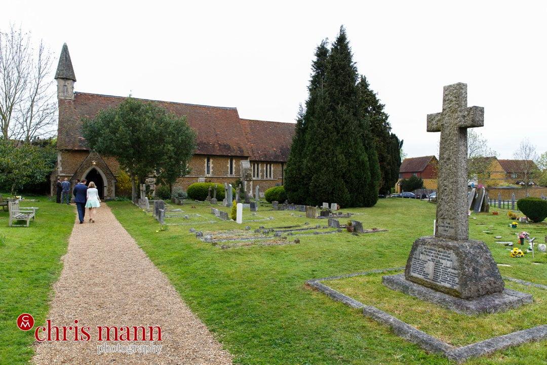 St Luke's Church Burpham Guildford Surrey