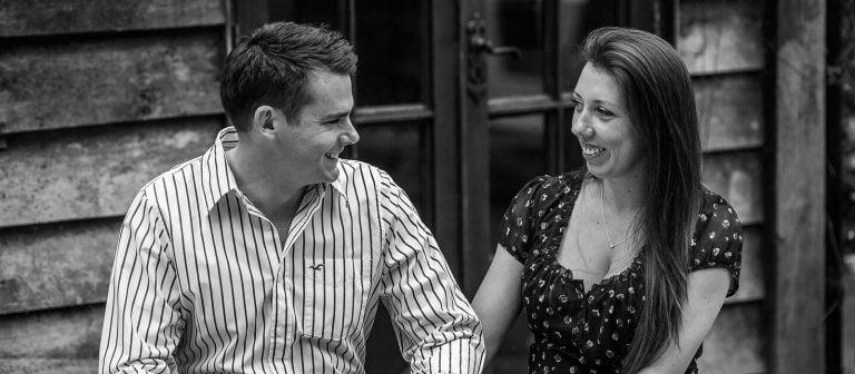 Hampshire engagement shoot | Laura & Matthew