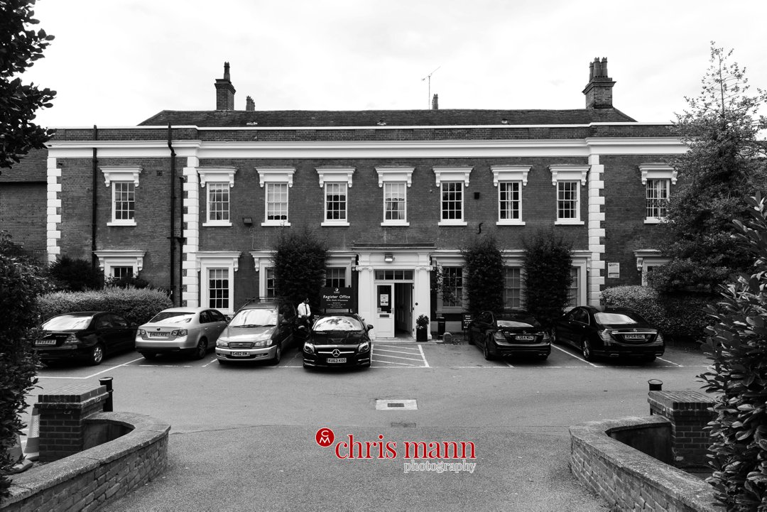 Leatherhead register office The Mansion
