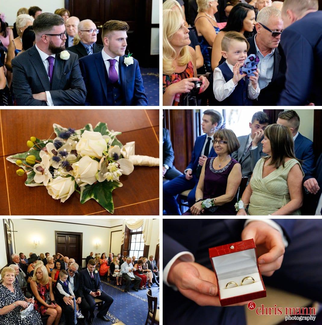 wedding ceremony Leatherhead register office