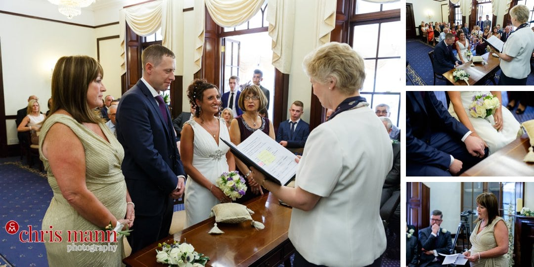 civil cermeony wedding Leatherhead register office