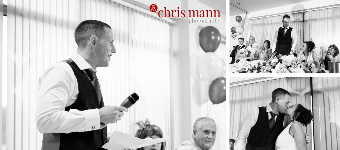 wedding speeches Surrey Downs Golf Club Kingswood