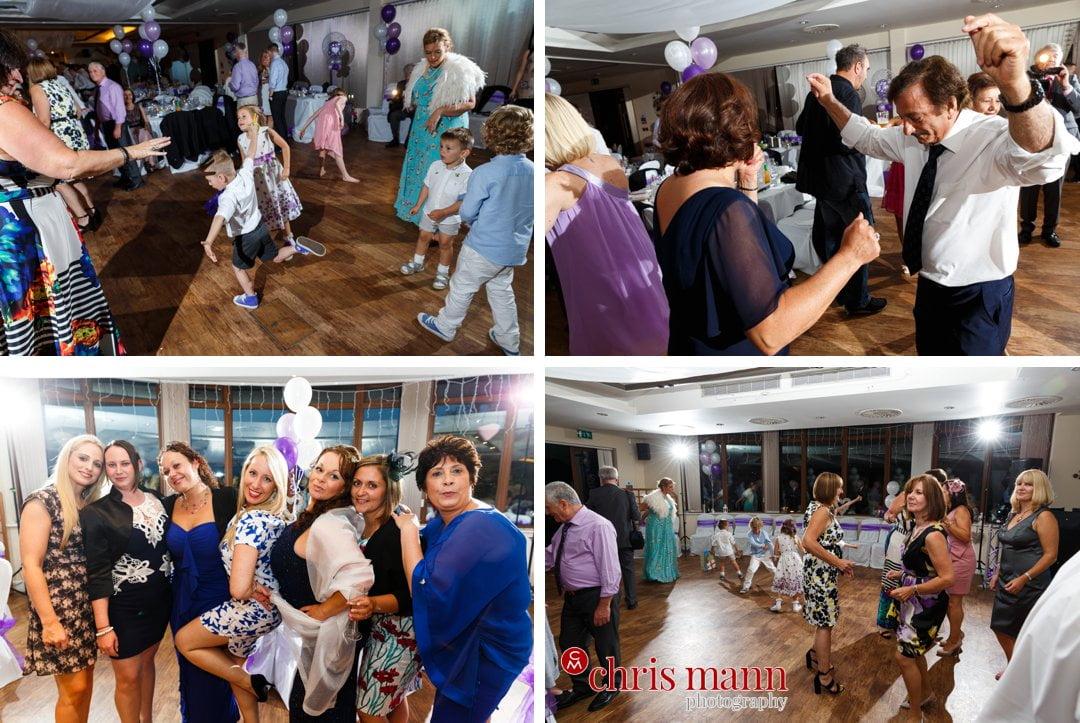 wedding reception dancing Surrey Downs Golf Club