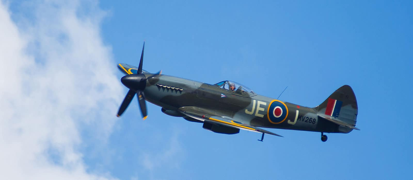 Spitfire wedding flypast: an unexpected wedding guest