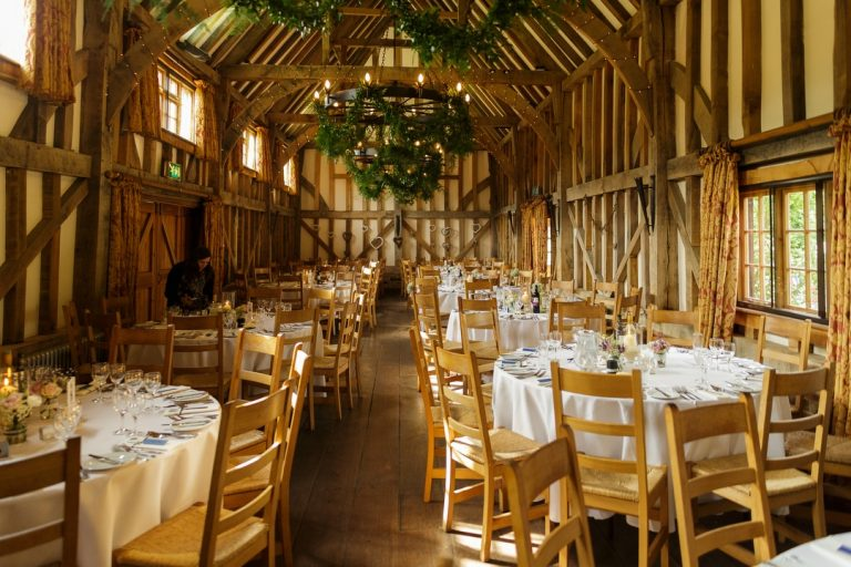 Gate Street Barn Surrey wedding venue