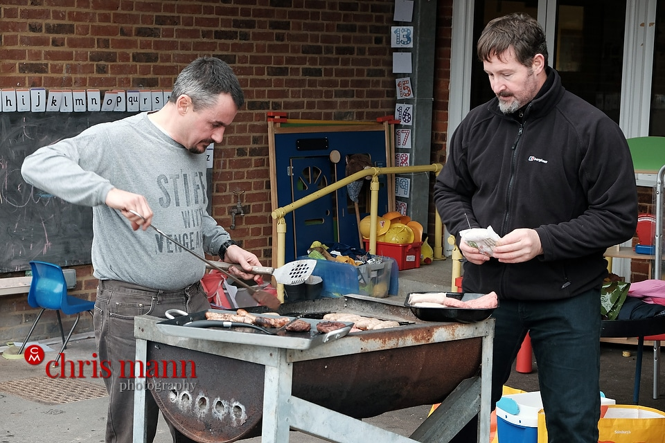 barbecue grill Wonersh and Shamley Green Primary School Xmas Fair 2015