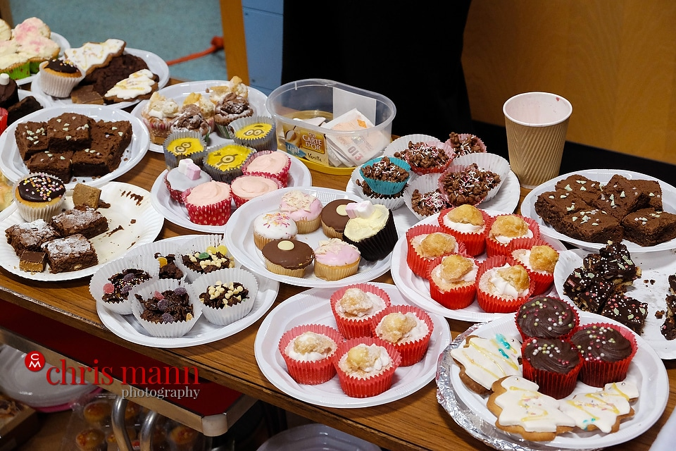 cake stall Wonersh and Shamley Green Primary School Xmas Fair 2015