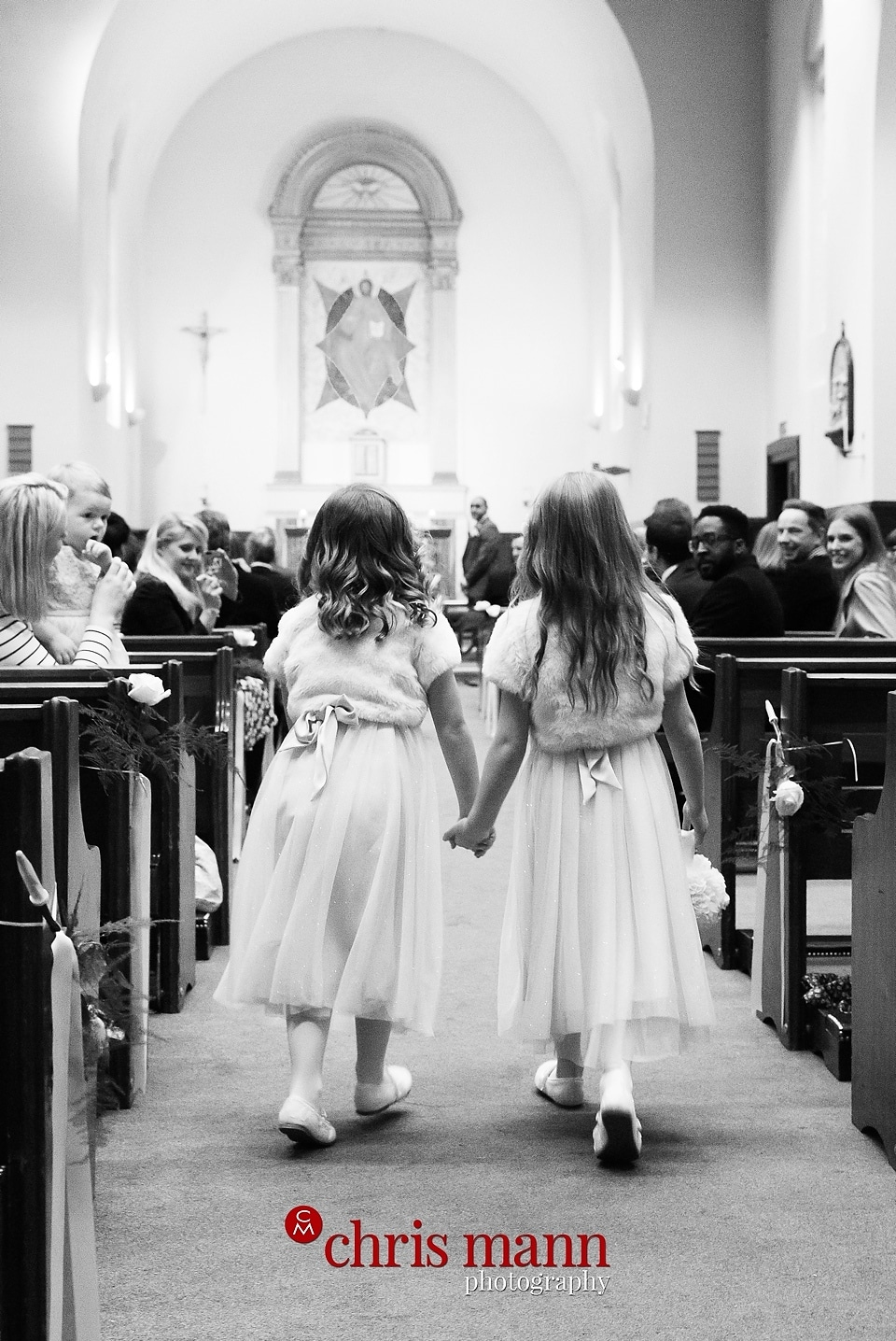 Wimbledon church wedding photo