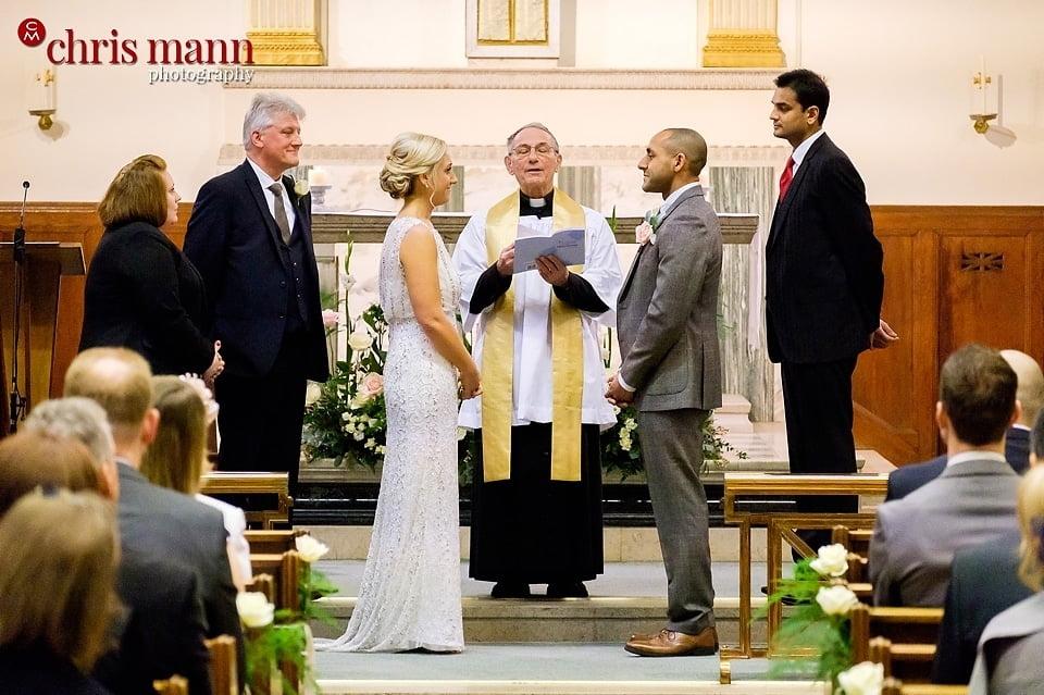 wedding ceremony catholic church Wimbledon