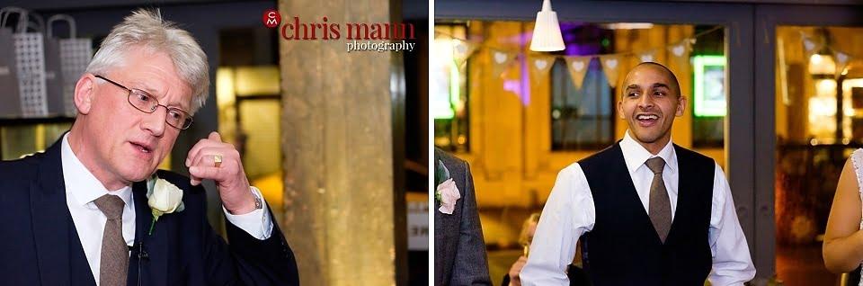 wedding reception speeches Aubaine restaurant Wimbledon