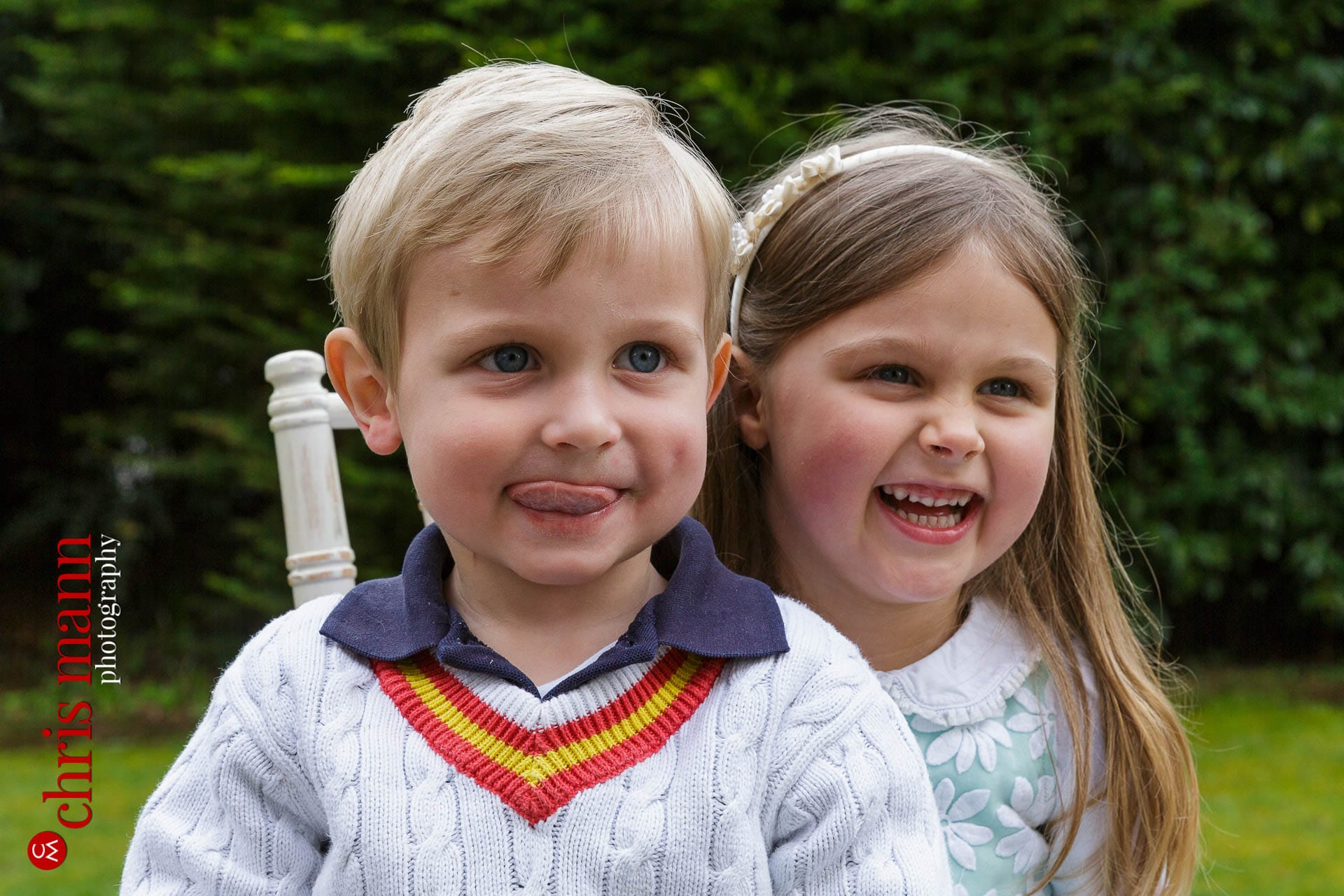 happy children portrait photo