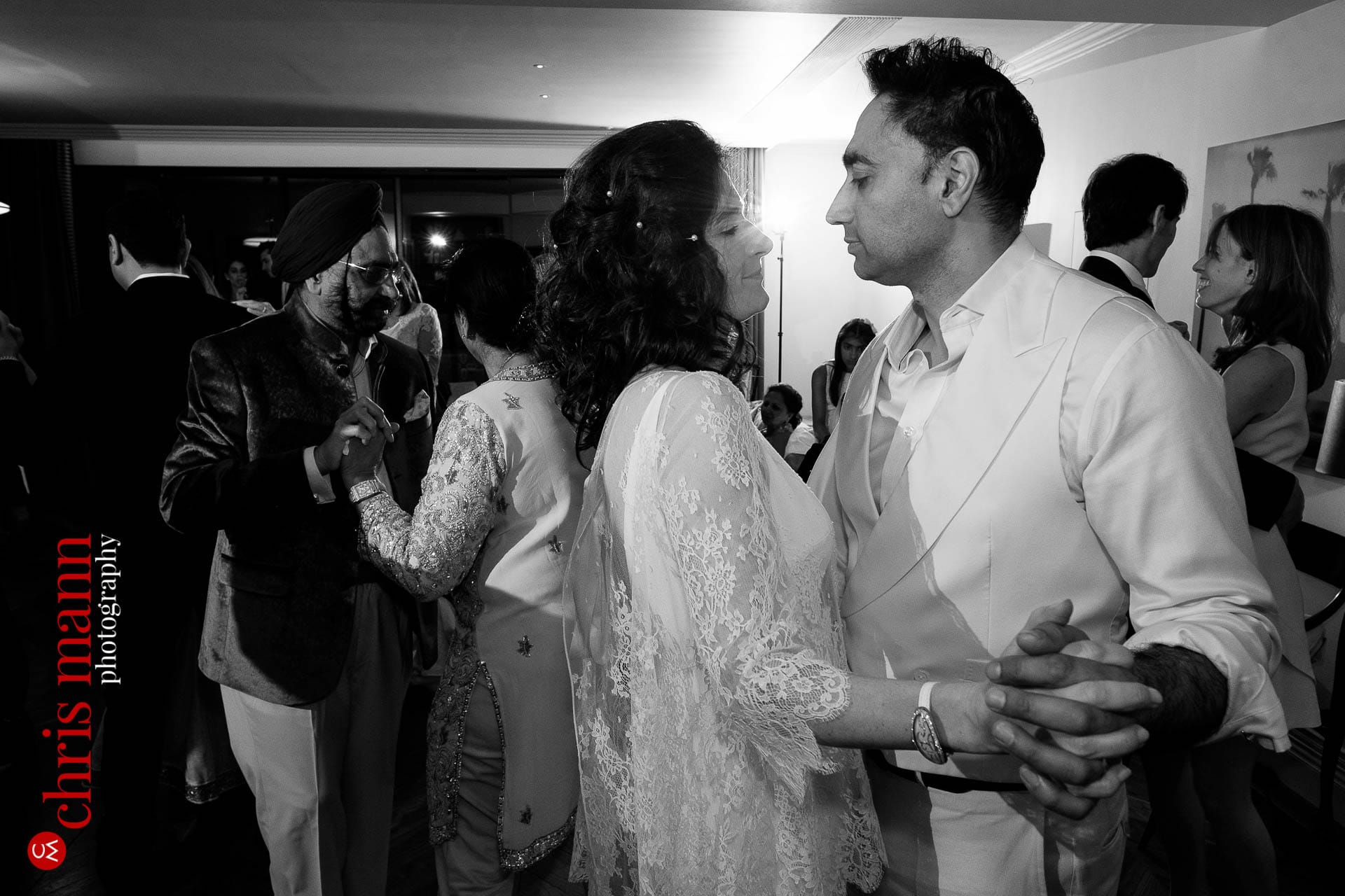first dance bride and groom wedding reception Arts Club Mayfair London W1