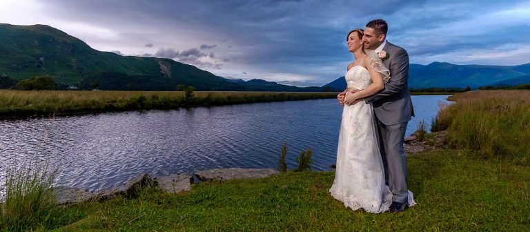 Lodore Falls Cumbria wedding photos | Kinga and Shiral