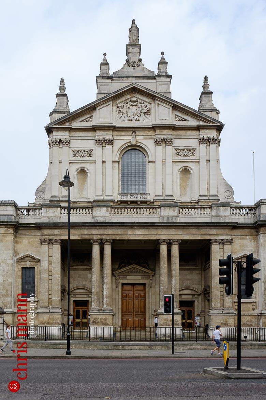 Brompton Oratory Knightsbridge London exterior