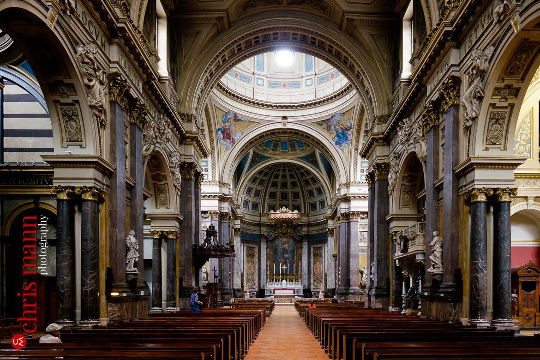 Brompton Oratory Knightsbridge London interior