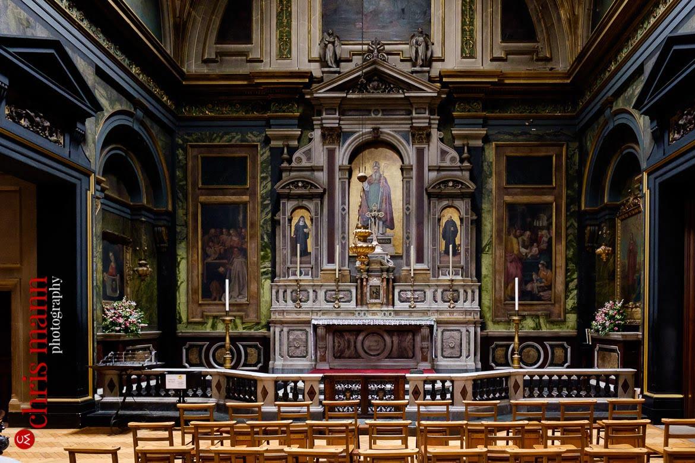 Brompton Oratory Knightsbridge London chapel interior