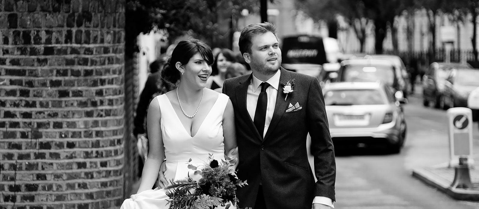 Islington Town Hall Wedding | Julie and Tom