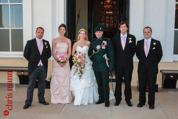 family wedding group Royal Military Academy Sandhurst