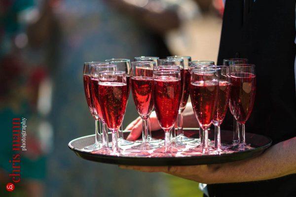 drinks wedding reception Farnham Castle