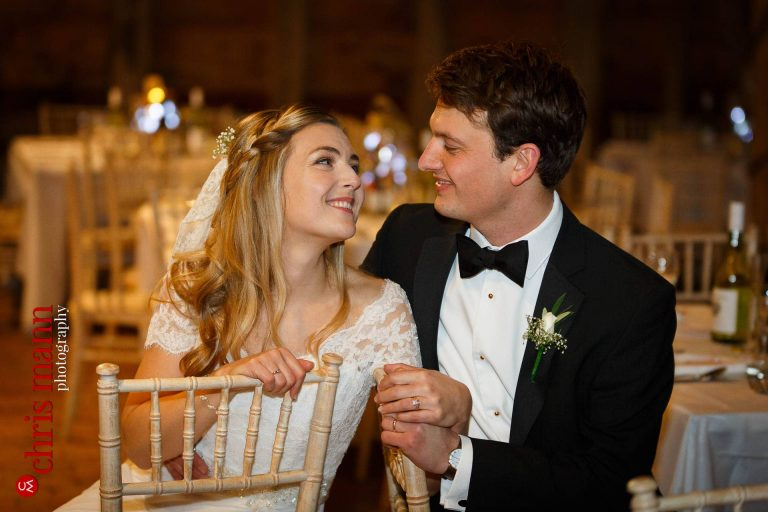 Gildings Barn Surrey Winter Wedding