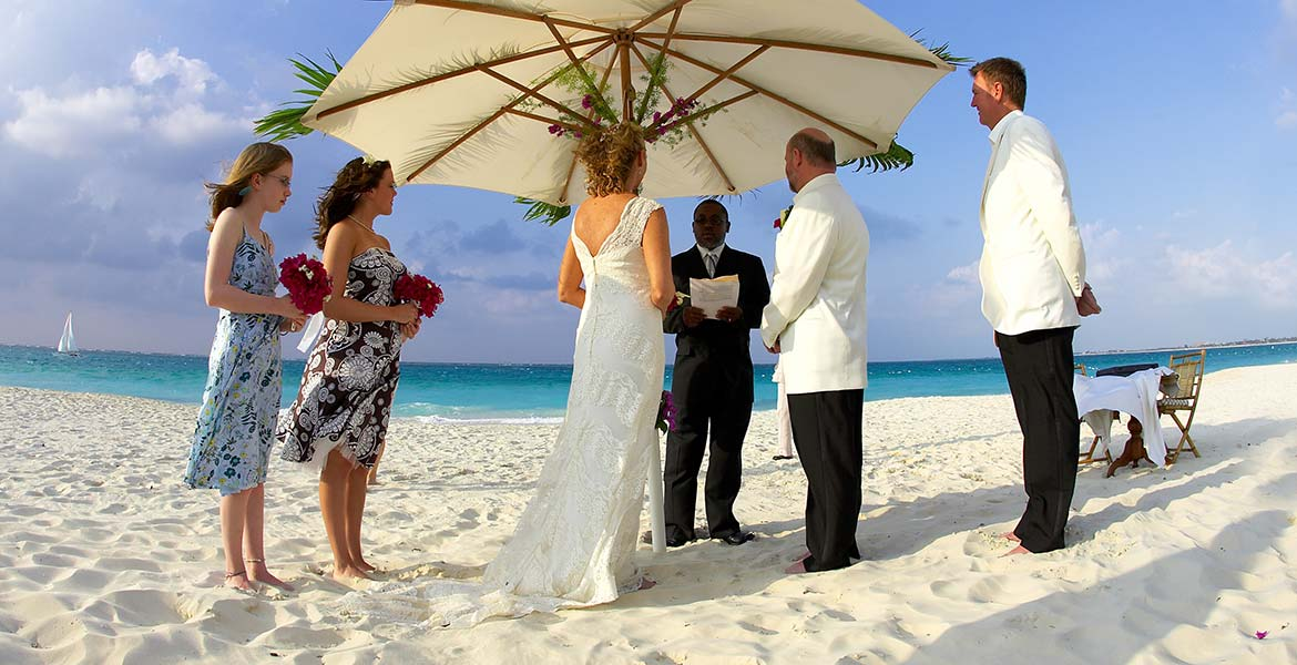 destination weddings turks and caicos beach