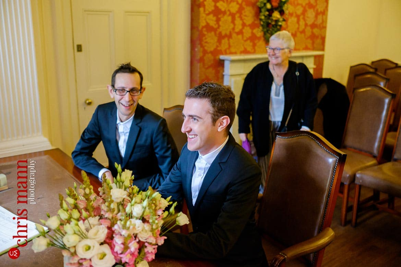 Southwark wedding same-sex Register Office civil ceremony