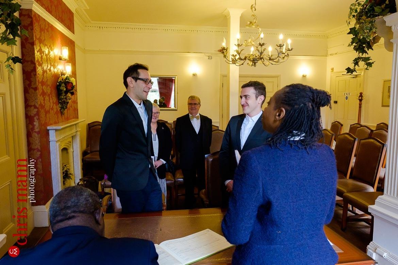 Southwark Register Office civil ceremony