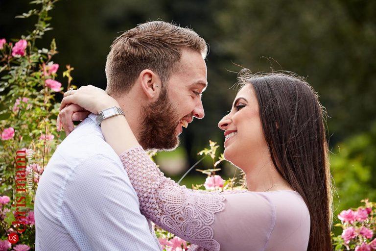 Gunnersbury Park Ealing engagement shoot | Natasha & Terry