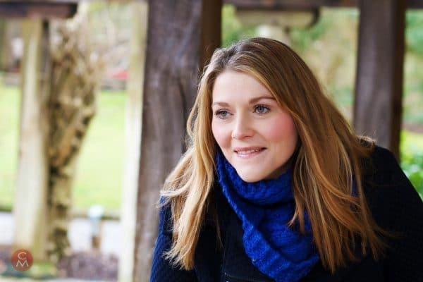 female portrait smiling woman portrait photography Chris Mann