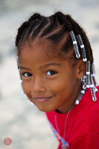 cute girl with braids beach portrait photography Chris Mann