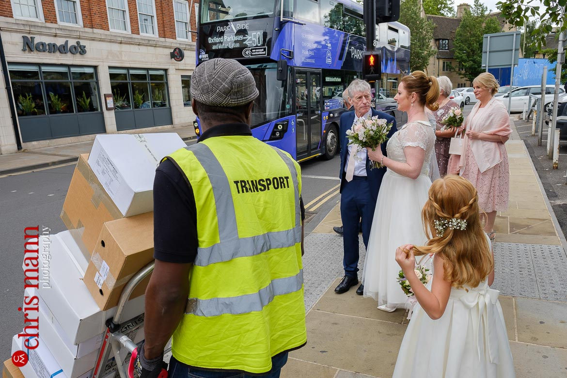 Oxford Register Office Wedding