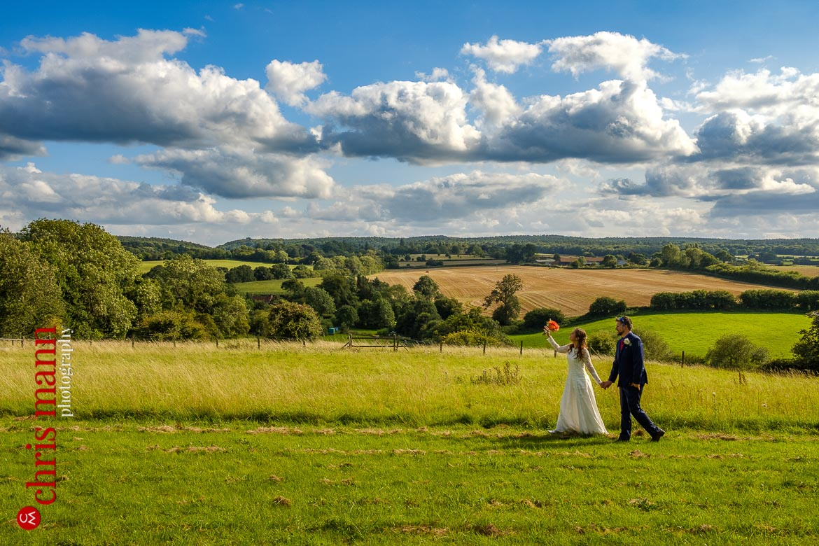 Surrey garden wedding in Gomshall | Jessica & Ben