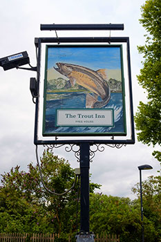 The Trout Inn Wolvercote Oxford Oxfordshire