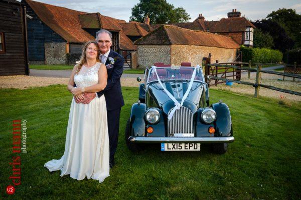 Clock Barn Godalming wedding photography | Maria and James
