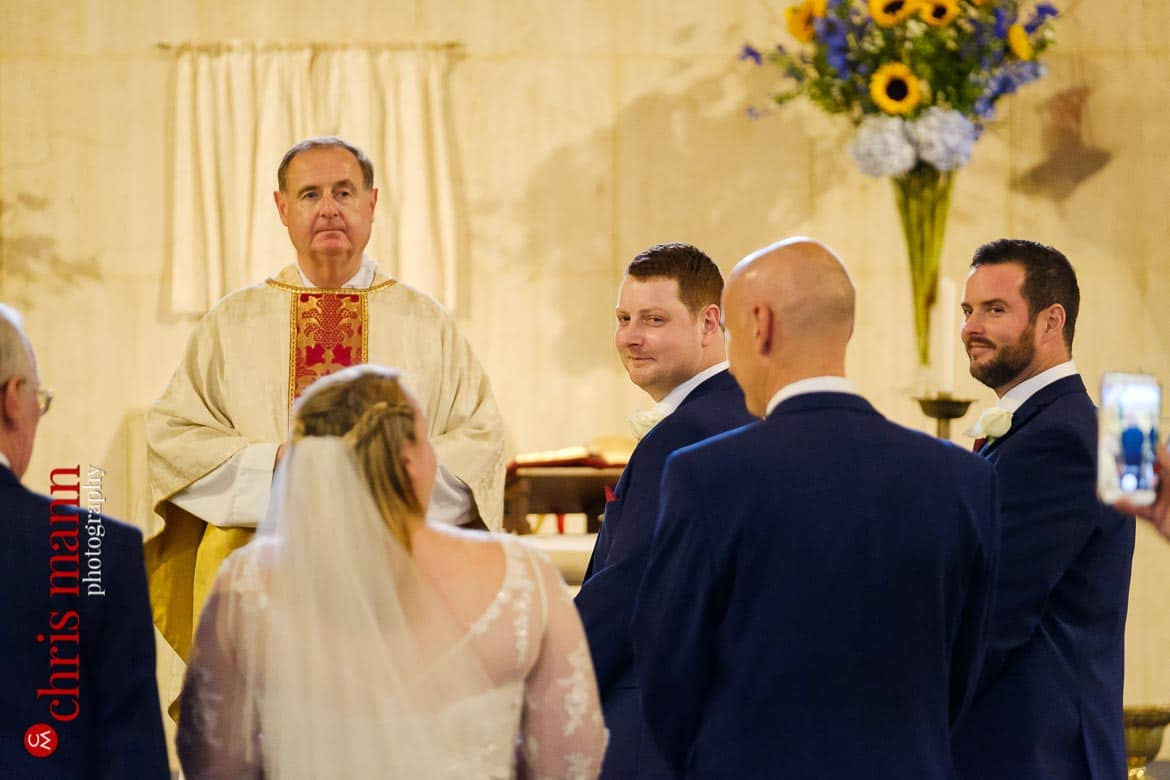 St Joseph's Church Guildford wedding