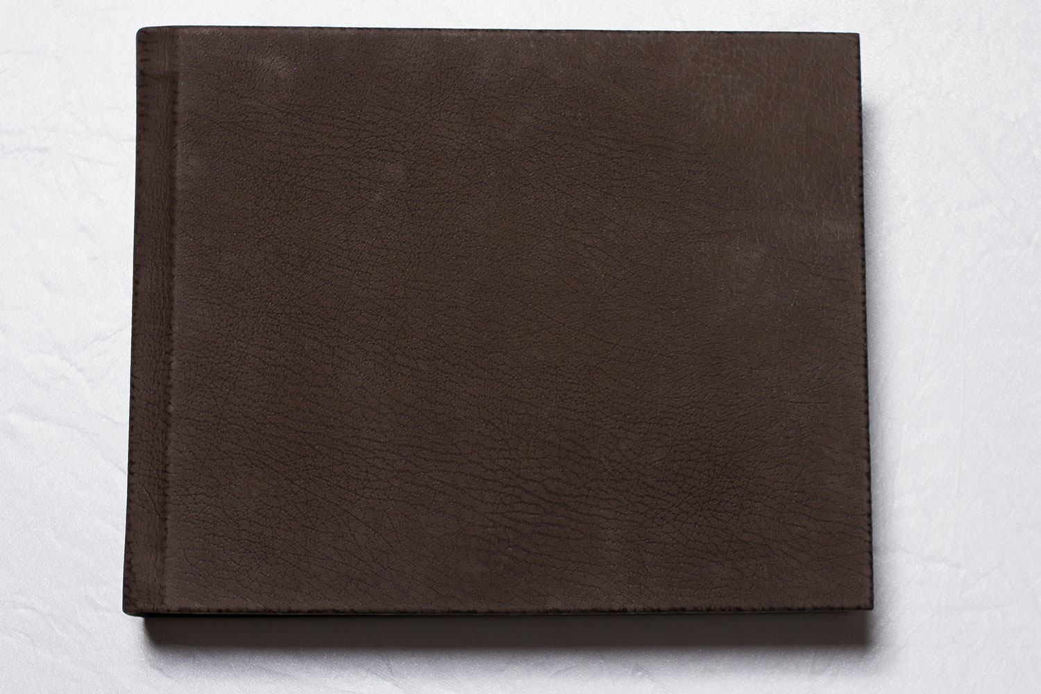 Deluxe matted album with genuine leather cover