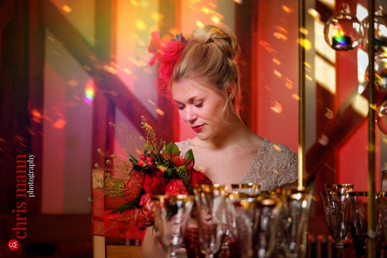bridal styled shoot at Gate Street Barn