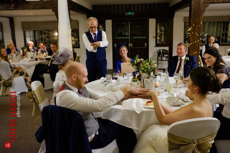 Mercure Burford Bridge Hotel Box Hill Dorking - father of bride's speech