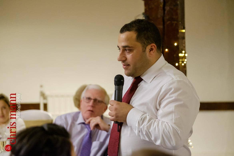 Mercure Burford Bridge Hotel Box Hill Dorking - best man's speech