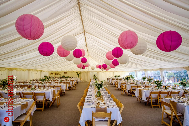 impressive wedding marquee - Hampshire country wedding